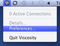 Installing Viscosity