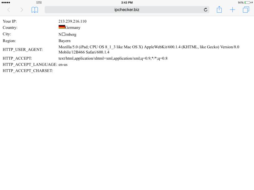 L2TP/IPSec PSK iOS