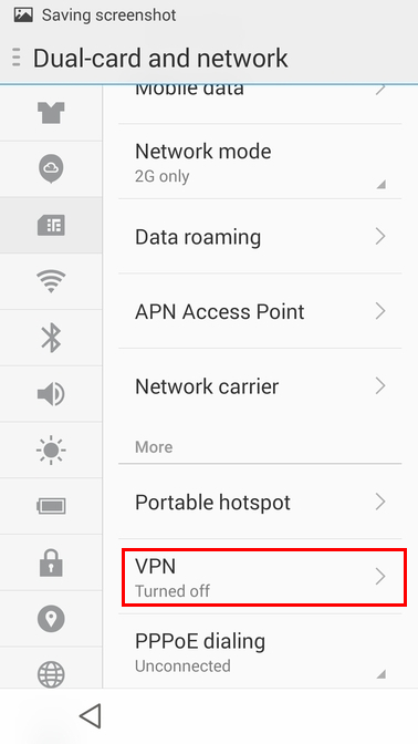 L2TP/IPSec PSK Android