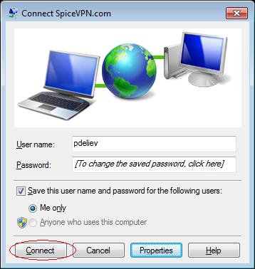 VPN PPtP setup